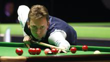 Ken Doherty's Crucible hopes are over