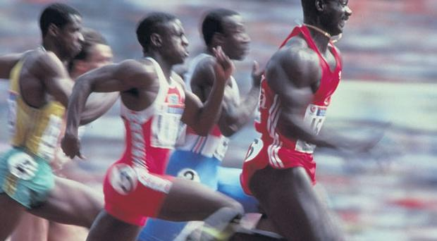 Cheat: Ben Johnson winning at the Seoul Olympics of 1988
