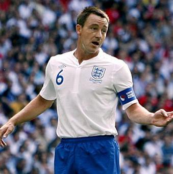 John Terry retired from international football in September 2012