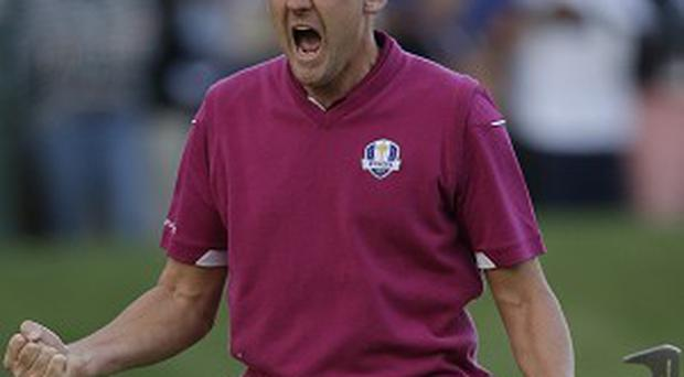 Ian Poulter was central to Europe's win at Medinah