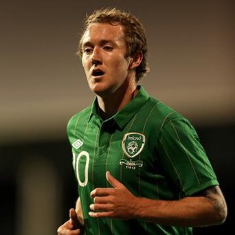 Aiden McGeady is a doubt for Ireland's upcoming World Cup qualifiers