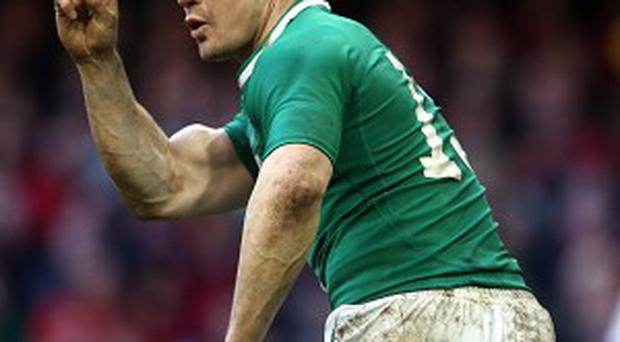 Brian O'Driscoll has not allowed himself to contemplate retirement just yet