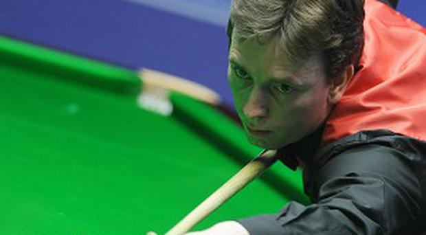 Ken Doherty, pictured, defeated John Higgins in the BetVictor Welsh Open