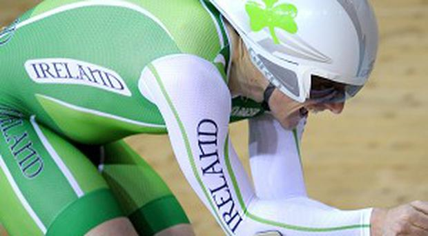Martyn Irvine enjoyed a stunning day at the World Track Cycling Championships