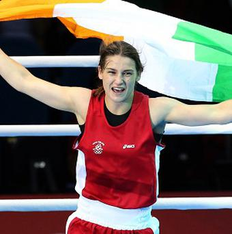 Katie Taylor made a winning return in Dublin
