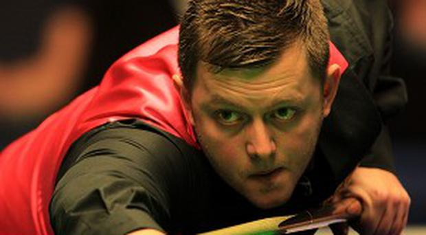 Mark Allen is in prime position to win the Haikou World Open