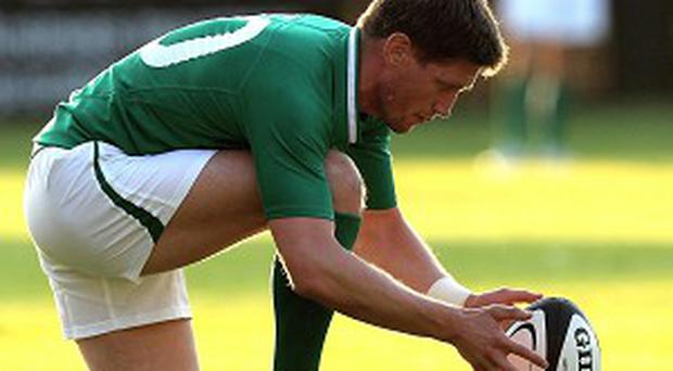 Ronan O'Gara had been omitted from an extended Ireland squad on Sunday