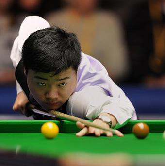 Ding Junhui turned in a scintillating performance against Mark Allen