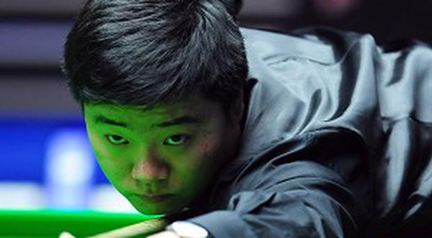 Ding Junhui battled back to secure victory in Galway