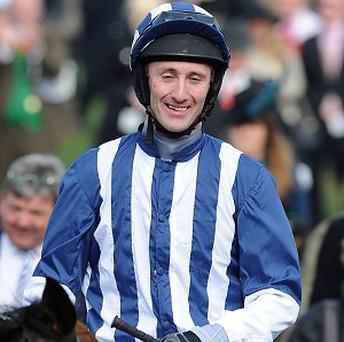 JT McNamara was injured after a fall at Cheltenham last week