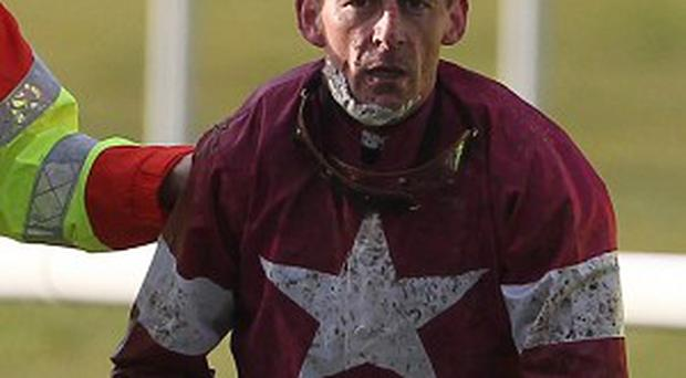 Davy Russell suffered the injury at Cheltenham last week