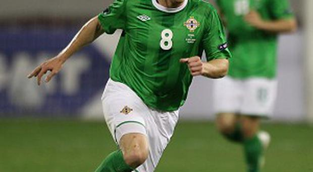 Sammy Clingan is back in Northern Ireland's ranks