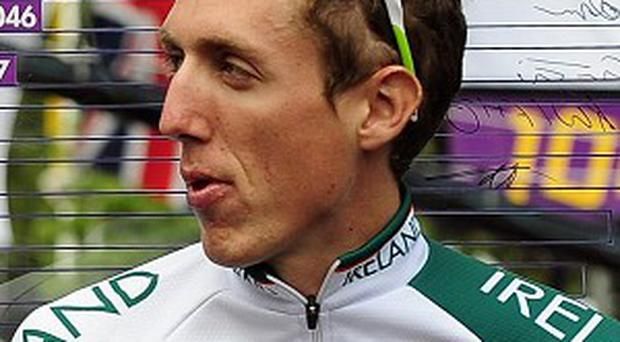 Daniel Martin is the overall leader of the Volta a Catalunya