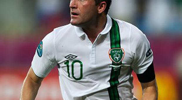 Robbie Keane has been ruled out of the Austria game