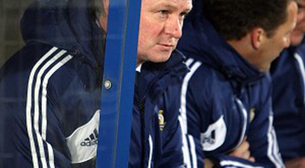 Michael O'Neill has yet to win as Northern Ireland manager