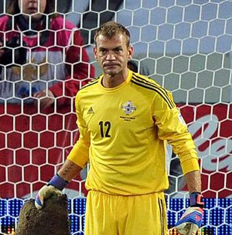 Roy Carroll returned to the Northern Ireland side at the start of World Cup qualifying after a six-year absence