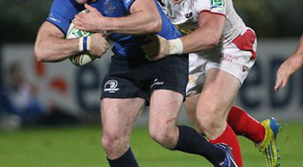 Fergus McFadden went over for one of Leinster's five tries