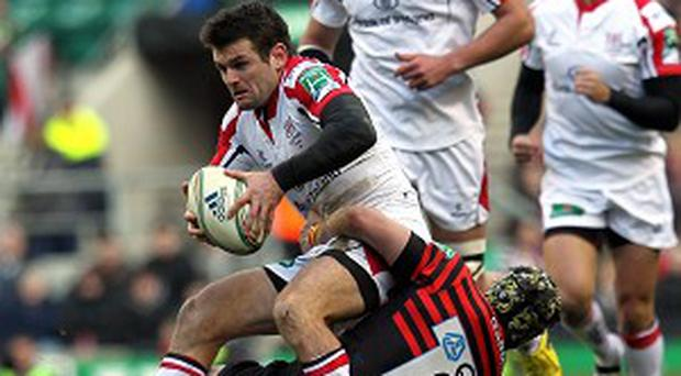 Jared Payne, left, will remain at Ravenhill until at least 2016
