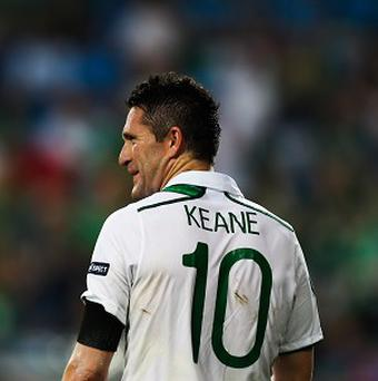 Robbie Keane has shaken off an ankle injury to be in contention for Ireland