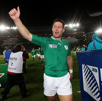 Ronan O'Gara has called time on a glittering playing career