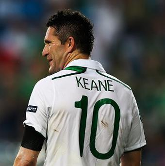 Robbie Keane is free to play for Ireland in their upcoming friendlies