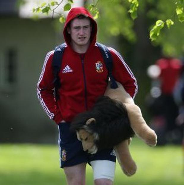 Stuart Hogg is the youngest player on the British and Irish Lions tour