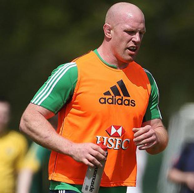 Paul O'Connell was the British and Irish Lions skipper in 2009