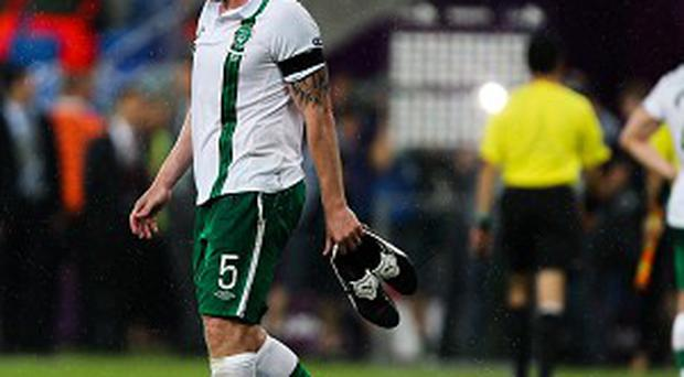 Richard Dunne played his first game for club or country on Sunday in a year
