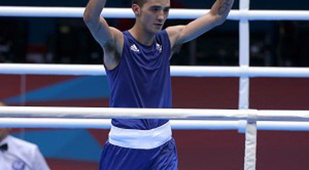 Andrew Selby negotiated his path to the last eight at the European Amateur Championships on Monday