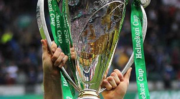 Northampton have been drawn against Leinster, Castres and Ospreys in the Heineken Cup