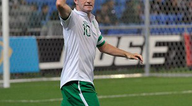 Robbie Keane is not thinking about international retirement just yet