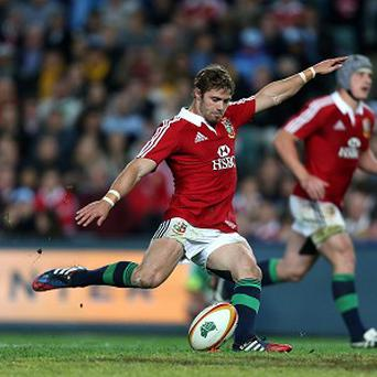 Leigh Halfpenny was in sparkling form, scoring 30 points in total