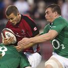 Ireland, without a number of their key players, were too strong for Canada (AP)