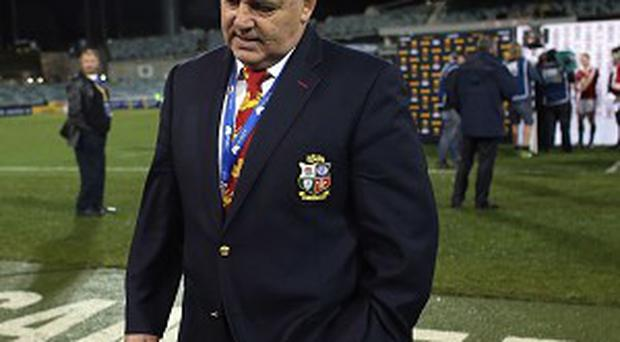 Head coach Warren Gatland says the Lions got what they deserved against the Brumbies
