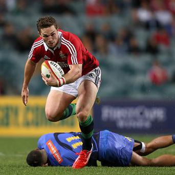 George North has been passed fit for Saturday's first Test