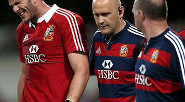 Tom Croft, left, will be fit to start Saturday's Test against Australia