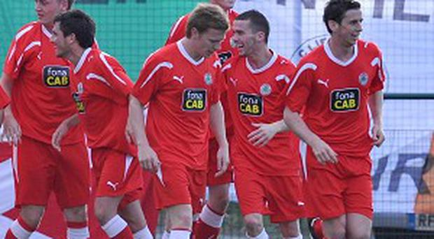 Cliftonville play Celtic for a place in the Champions League third qualifying round