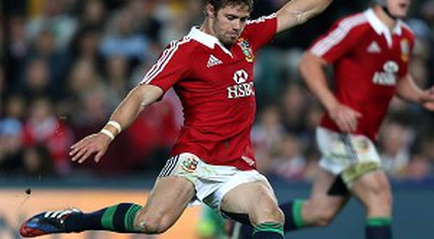 Leigh Halfpenny has been in imperious form with the boot