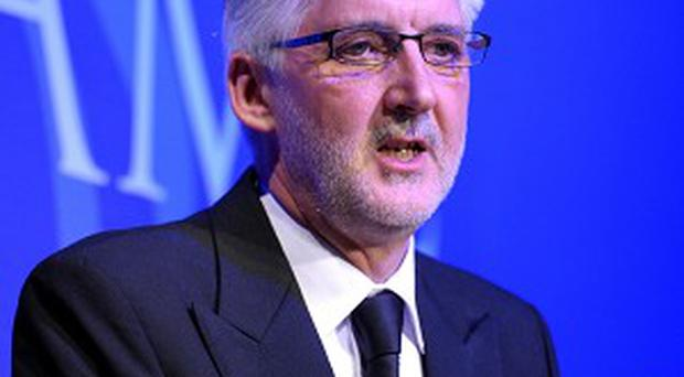 Brian Cookson, pictured, is not happy with Pat McQuaid's 'bullying and haranguing style'