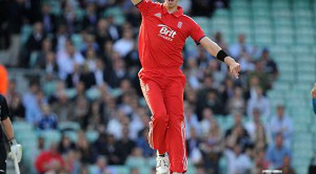Boyd Rankin took a wicket with just his fourth ball in England colours
