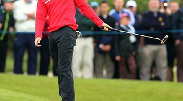 Rory McIlroy carded a disappointing 74 in the opening round of the Irish Open