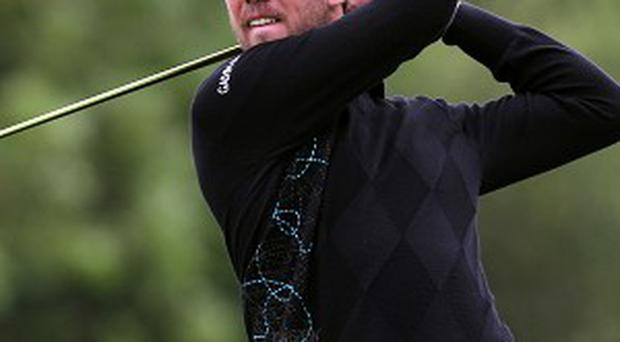 Oscar Floren carded a flawless six-under-par 66 late in the first round