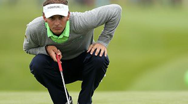 Joost Luiten leads the Irish Open by one shot with one round to play