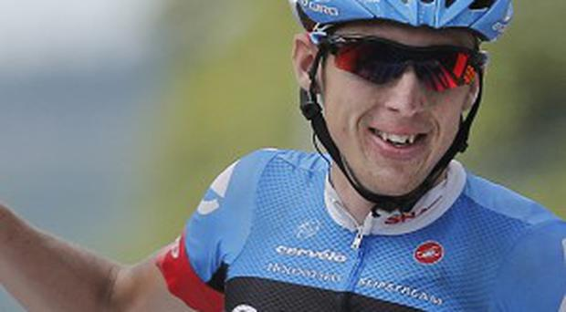 Dan Martin became the first Irishman since 1992 to win a stage of the Tour de France (AP)