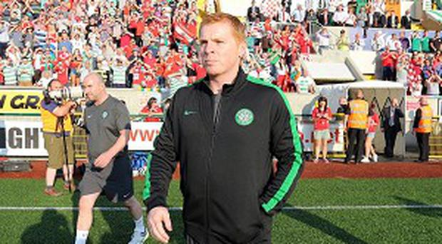 Neil Lennon was pleased Celtic could put aside their poor pre-season form
