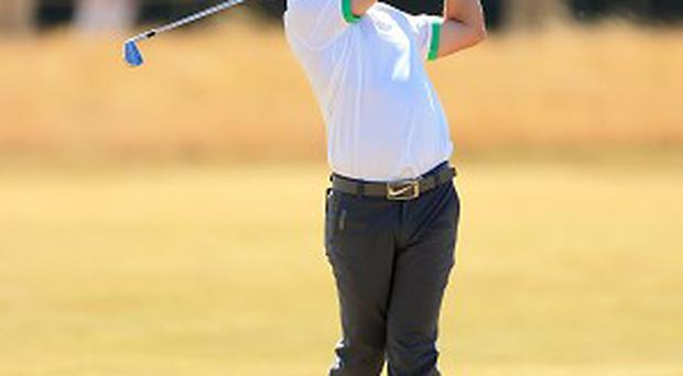 Rory McIlroy cut a disconsolate figure following an opening 79 at Muirfield