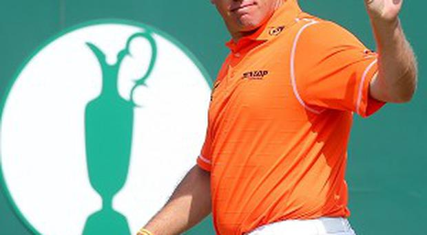 Lee Westwood is looking to win his first major at Muirfield