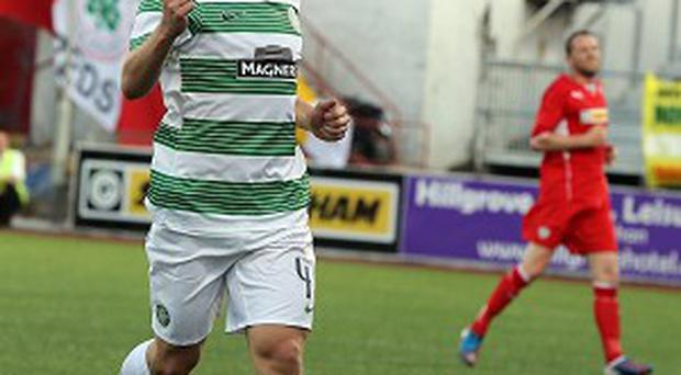James Forrest gave Cliftonville a torrid man in Belfast