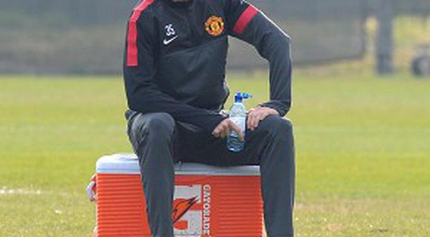 Jonny Evans has been putting in the hard yards on the training ground