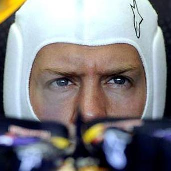 Sebastian Vettel has his sight firmly fixed on a fourth successive world title